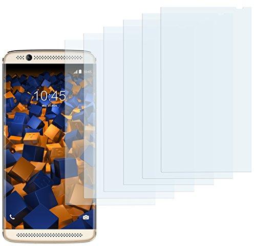 mumbi Schutzfolie kompatibel mit ZTE Axon 7 Mini Folie klar, Bildschirmschutzfolie (6x)