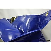 5,50€/m² PVC LKW Plane Abdeckplane 4 x 6 m 650g/m² blau