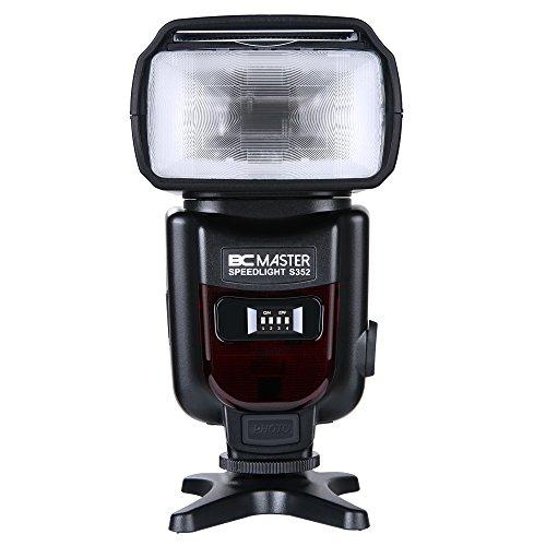 BC Master S352 2.4G Flash Speedlite für Canon Nikon Panasonic Olymp und andere DSLR Kameras, Digitalkameras mit Standard Hot Schuh