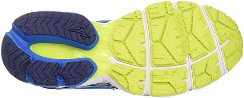 Mizuno Herren Wave Ultima Gymnastikschuhe, Directorieblue/White/Safetyyellow Blu (Directoire Blue/White/Safety Yellow)
