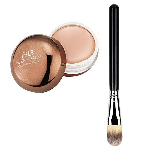 Vococal® Couvrir La Faille BB Crème Visage Contour Crème Maquillage Correcteur Palette Avec Pinceau 1 Poudre