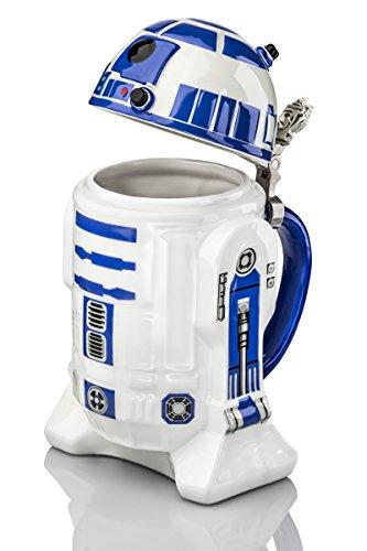 Jarra de cerveza con tapa Star Wars
