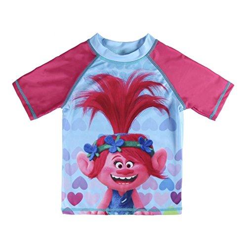 Trolls Poppy - Camiseta de baño (5 años)