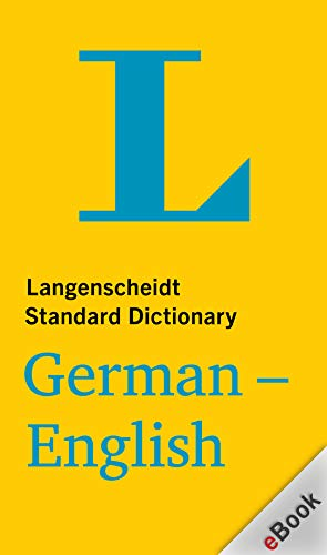 Langenscheidt Standard German-English Dictionary ...