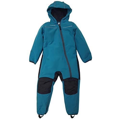 Outburst - Jungen Softshell Overall Schneeanzug, türkis - 3712206, Größe 86