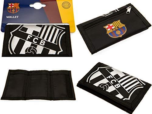 FCB FC Barcelona - Cartera nylon cierre adhesivo 12
