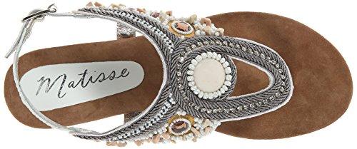 Matisse Rune Femmes Cuir Tongs white