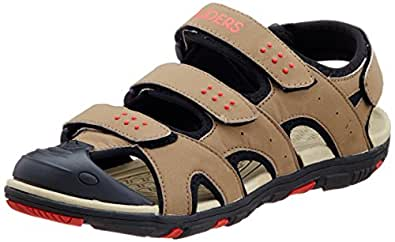 Gliders (from Liberty) Men's Brown Sandals and Floaters - 10 UK