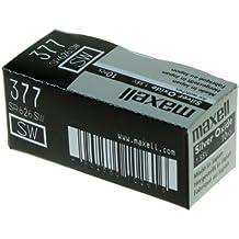 Maxell SR626 SW - 377 - Batería de Óxido de Plata 1.55V - PACK DE 10 UNIDADES