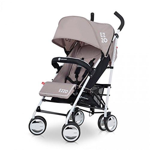 Buggy EZZO Sport Kinderwagen | Baby ab 6. Monate | Kompakt Faltbar | Farbe: Mocca