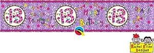 Rachel Ellen- Pancarta de fiesta, Color rosa (25028)