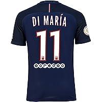 Paris Saint Germain PSG FC N ° 11Angel di Maria pour homme Home Away Troisième Maillot de football avec L1Champion badge 2016/17Taille S/M/L/XL