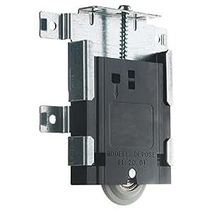 Galet de porte coulissante sifisa bricolage - Roulette pour porte de placard coulissante ...