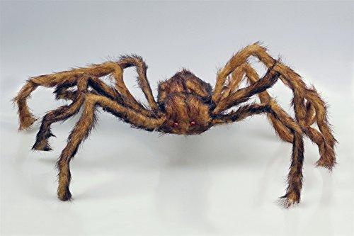 braun Halloweendekoration Spinne Tarantula Plüschspinne (Spinne Tarantula)