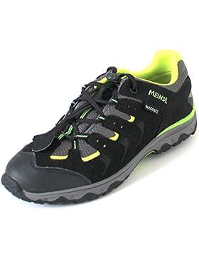 Meindl  2102-01 Supino Junior,  Scarpe da camminata ed escursionismo ragazzo nero Schwarz (schwarz/lemon)