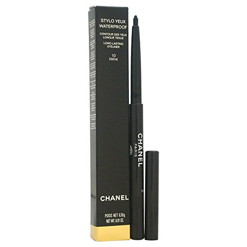 Chanel Gel Parfüm (Chanel Stylo Yeux Waterproof Unisex, No. 10 Ebéne, Eyeliner, 1er Pack (1 x 10 ml))