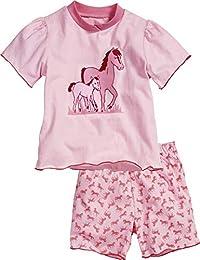 Playshoes Nachthemd Kleid Schlafanzug 98 104 110 116 128 140 Pferde Wäsche NEU