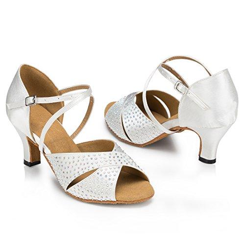 TDA - Peep-Toe donna 6cm Heel White