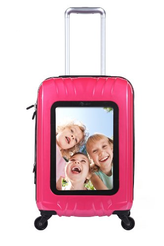 selfie-club-20-inch-personalized-carry-on-with-360-degree-4-wheel-system-pink-one-size