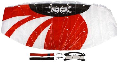 Professional Kites rot/Weisse Lenkmatte mit Spannweite 140 cm