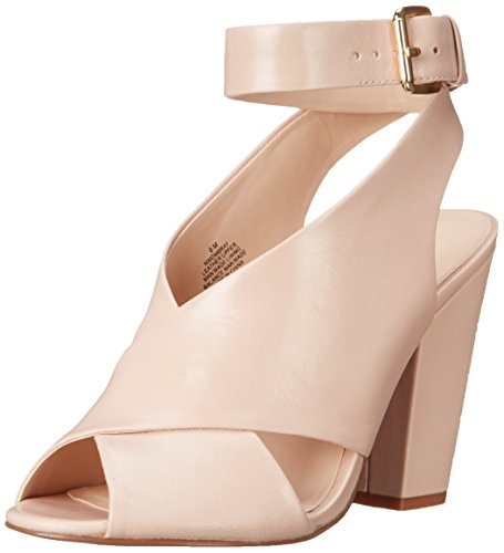 Nine West Ombray cuir Sandales à talons Light Natural