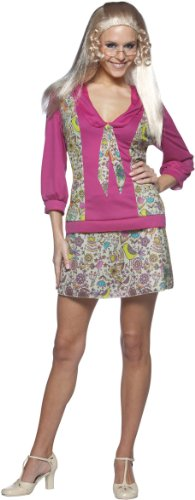 ie 70'S Tv Show Female Costume Dress Adult Standard ()