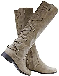 90af86d217273 Suchergebnis auf Amazon.de für: Rotes Kleid - Stiefel & Stiefeletten ...