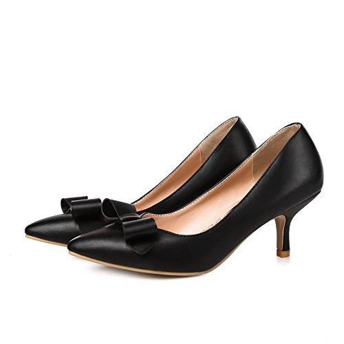BalaMasa da donna, in microfibra, stampa pompe scarpe Black