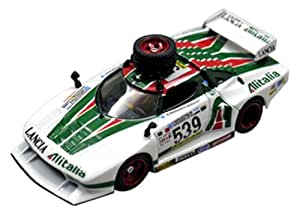 original kyosho 1 43 lancia stratos gr 5 alitalia color with spare tire japan import. Black Bedroom Furniture Sets. Home Design Ideas