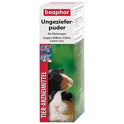 beaphar Ungezieferpuder | Mittel gegen Milben bei Kleintieren | Flohschutz | Auch zur Vorbeugung von Läusen geeignet | 30 g Dose (Misc.)