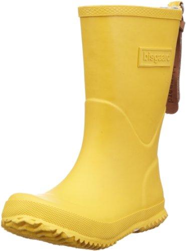 Bisgaard Unisex-Kinder Rubber Boot Basic Gummistiefel, Gelb (80 yellow), 30 EU