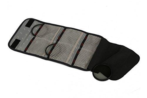 kalahari K-91 Filter-Etui, canvas schwarz, für bis zu 82mm
