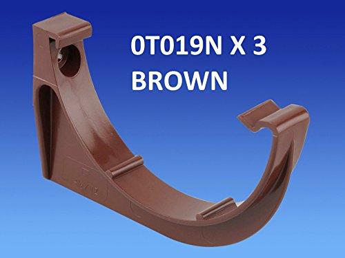 pack-of-3-x-wavin-osma-0t019n-brown-roundline-gutter-support-bracket-112mm