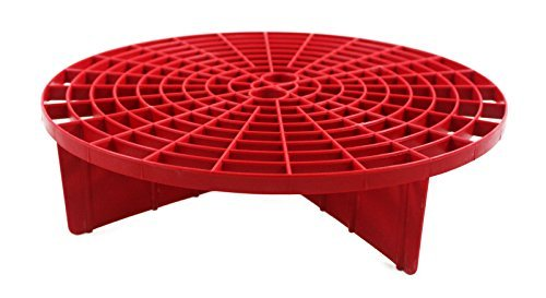 The Grit Guard Insert - Red (2 Pack) by Grit Guard - Red Grit Guard