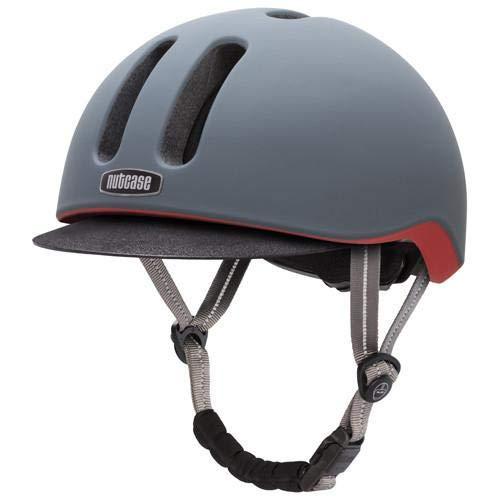 Nutcase Graphite Matte Metroride Helm, L/XL /59-62cm