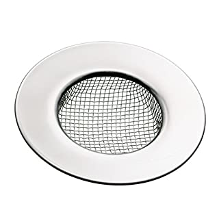 KitchenCraft Stainless Steel Mesh Shower/Kitchen Sink Strainer, 7.5 cm (3