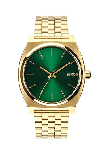 Nixon Herren Analog Quarz Uhr mit Edelstahl Armband A0451919-00