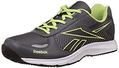 Reebok Women's Extreme Speed V Grey, Silver, Yellow White and Black Running Shoes - 4 UK