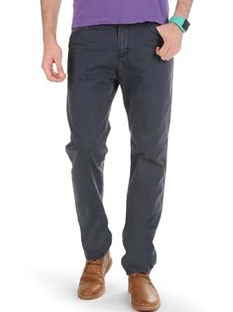 Carhartt Ziggy Pant Jean (33-32, coton bleu marine mill wasehd)