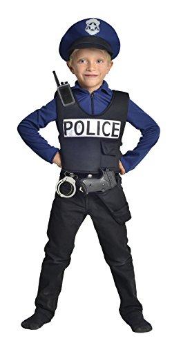 Cesar- Déguisement Policier, F592, 5/7 Ans