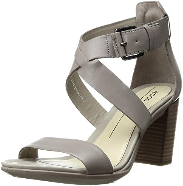 Ecco Shape 65 Block Sandal, Sandalias de Tacón Mujer