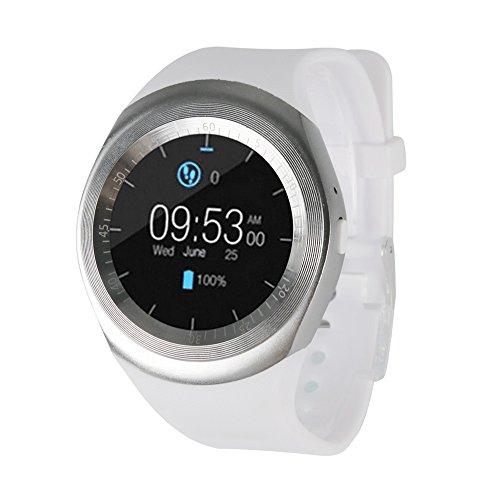 b251dc8c8cda02 JiaMeng Smartwatches - 2018 Bluetooth Smart Watch orologio cellulare Mate  pieno schermo SIM per Android per