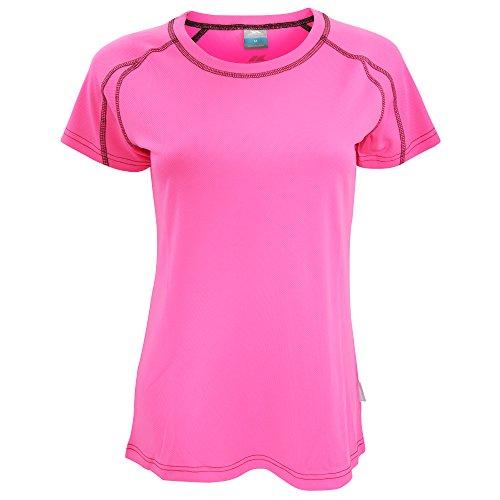 Trespass Mamo T-Shirt de Sport Femme Noir