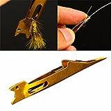 LaDicha Krawattenknoten Fliegenfischen Linie Tyer Tackle Metall Binden Werkzeugausrüstung