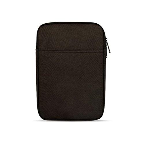 8 Zoll Laptop-Hülsen-Kasten-Abdeckungs-Beutel für Laptop Laptop (Rosa) Schwarz