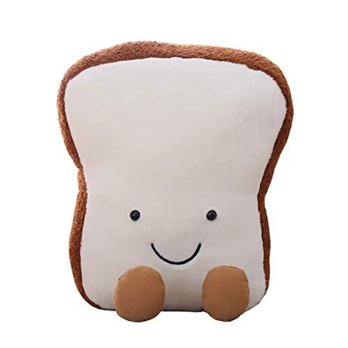 ZMDZA Brot plüsch Kissen Kissen Puppe Spielzeug Geschenk Hause Bett Zimmer innendekoration mädchen Kind Geschenk niedlich Kawaii (Size : 47cm) -