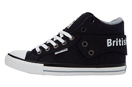 British Knights Roco Uomini Alte Sneakers Blu navy
