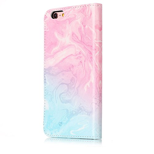 Yaking® Apple iPhone 6/6S PU Portefeuille Étui Coque Stand Flip Housse Couvrir impression Case Cover P-8