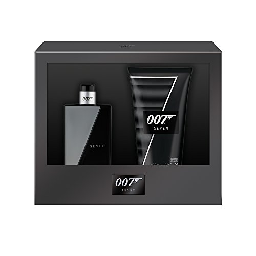 James Bond 007 Seven Geschenkset (Eau de Toilette Natural Spray 50ml + Duschgel 150ml), 1er Pack (1 x 50 ml)