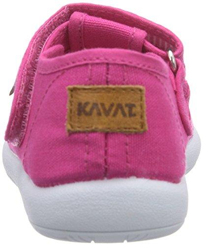 Kavat Mölnlycke, Baskets Basses mixte enfant Rose - Pink (cerise)